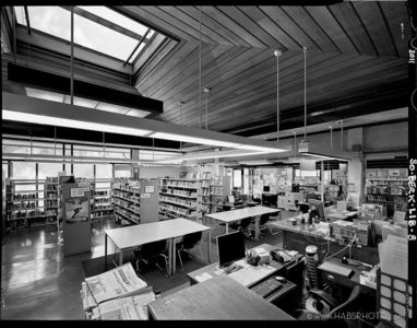 SOUTH BERKELEY LIBRARY • HABS
