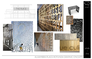 ALHAMBRA PLACE TOWER MURAL CONCEPTS