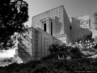 ENNIS HOUSE WEST EXTERIOR • HABS