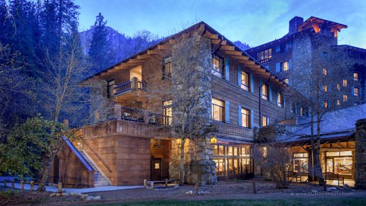 The Ahwahnee (Majestic Yosemite) Hotel