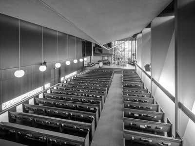 Claremont Methodist Church by Richard Neutra