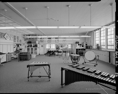 Mission Bay High Music Room