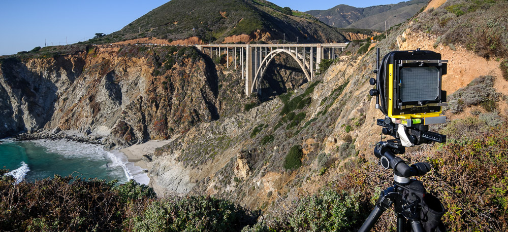 Bixby Bridge HAER Photography on 5x7 film