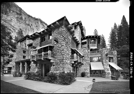 THE AHWAHNEE OBLIQUE • HABS PHOTOGRAPHY