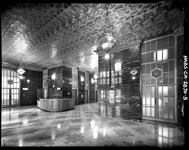 PACIFIC TELEPHONE BUILDING LOBBY, SAN FRANCISCO • HABS